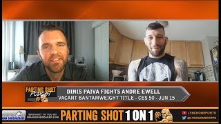 Dinis Paiva talks vacant bantamweight title matchup against Andre Ewell at CES 50