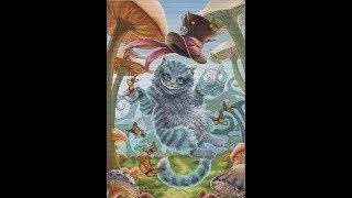 Вышивка крестом. Чеширский Кот по схеме Н. Казариной. Отчёт #3. Предпоследний