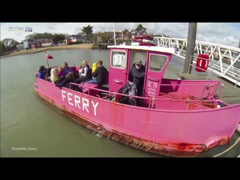 My Classic Boat.  Pink Ferry