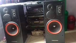 Bassotronics - Bass I Love You - Cerwin Vega E-712 + Yamaha R-S700