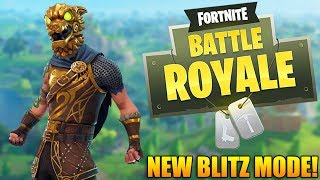 NEW BLITZ MODE & ITEMS TODAY! - 1100+ Wins - Fortnite Battle Royale Gameplay - (PS4 PRO)