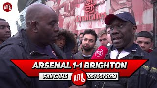 Arsenal 1-1 Brighton | We Need A Player Like Doucouré From Watford!
