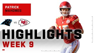 Patrick mahomes continues to show his brilliance, finishing with 372 yards and 4 touchdowns. the carolina panthers take on kansas city chiefs during week...