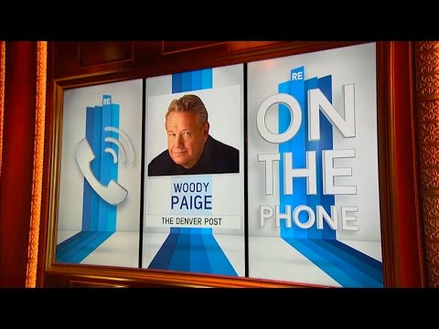 Woody Paige of The Denver Post Talks Peyton Manning,  Super Bowl 50 & More - 1/29/16