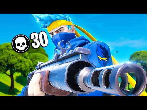 30 Kill Solo Squad | Chapter 2 Fortnite
