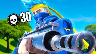 30 Kill Solo Squad | Chapter 2 Fortnite