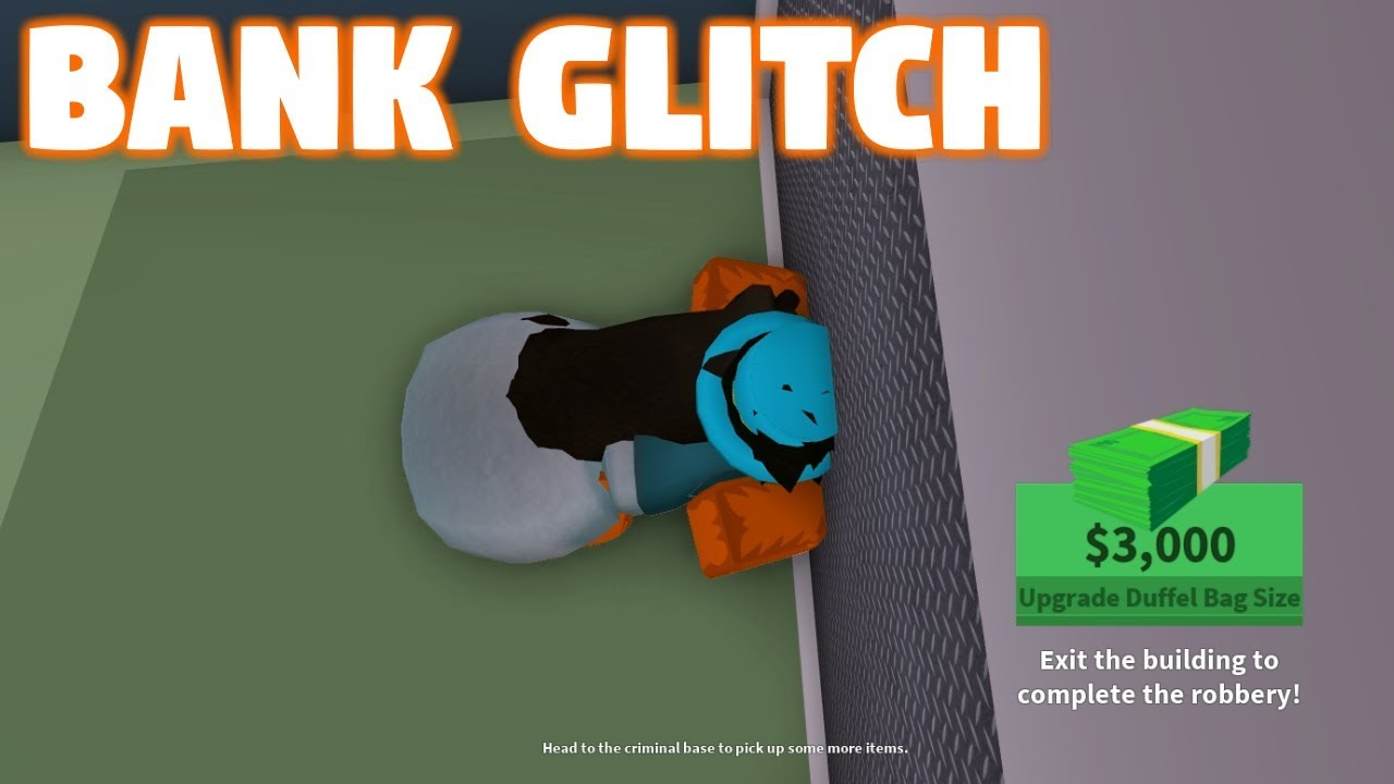 roblox jailbreak how to rob bank