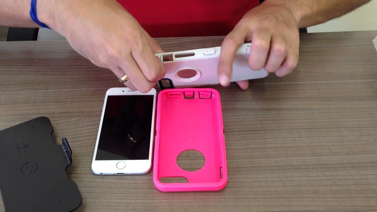 Otterbox Defender para iPhone 6 - YouTube