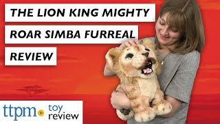 First Look at FurReal Disney The Lion King Mighty Roar Simba from Hasbro