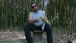 Bamboo Bushcraft Water Filter For SODIS Treatment