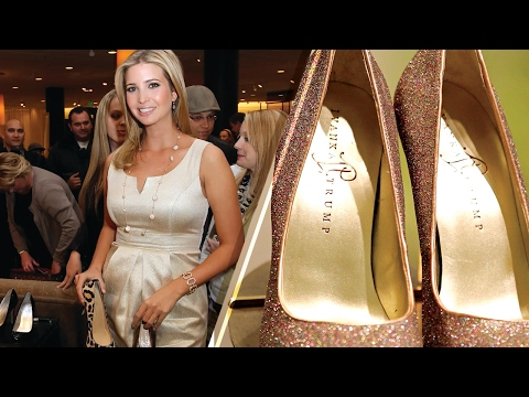 Ivanka Trump Shoes and Clothes DUMPED by Nordstrom - An Act of Protest?