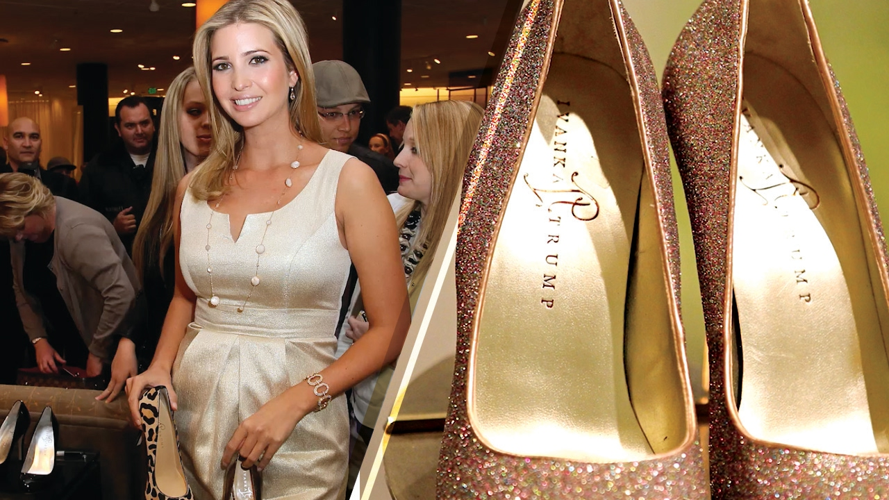 Ivanka Trump Shoes and Clothes DUMPED by Nordstrom - An Act of Protest? -  YouTube