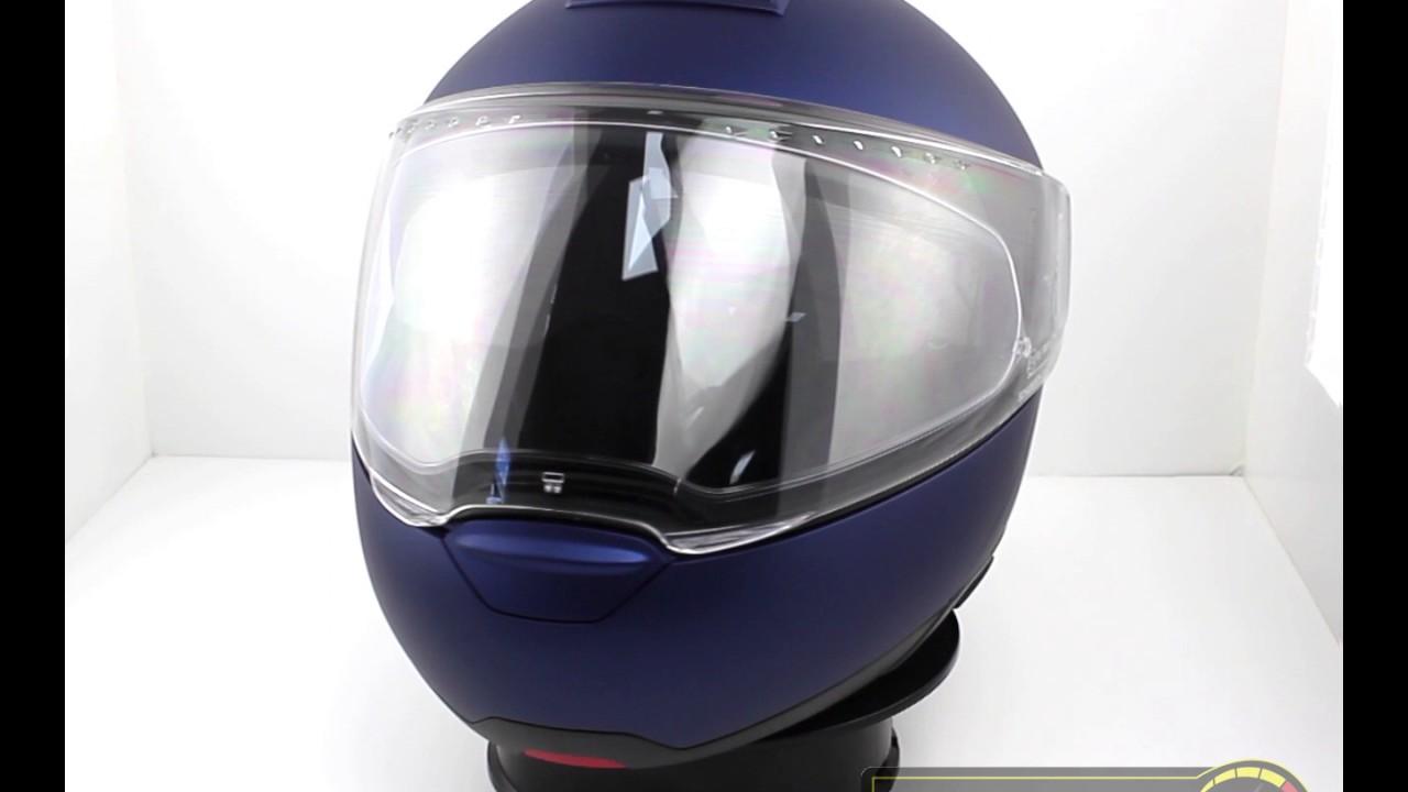 7ed80775 Schuberth C4 Flip Front Motorcycle Helmet Matt Blue - TheVisorShop ...