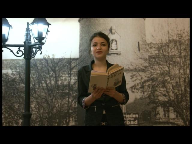 Изображение предпросмотра прочтения – КристинаГригорян читает произведение «Только русский» В.Я.Брюсова