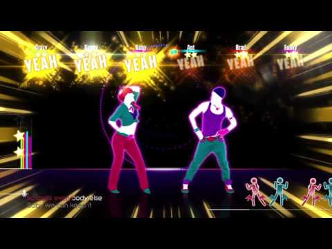 Just Dance Unlimited - Promiscuous - Nelly Furtado featuring Timbaland - 6 Player Gameplay