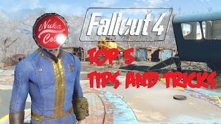 My Top 5 Fallout 4 Tips And Tricks أفضل 5 حركات و نصائح علي لعبة فال اوت 4