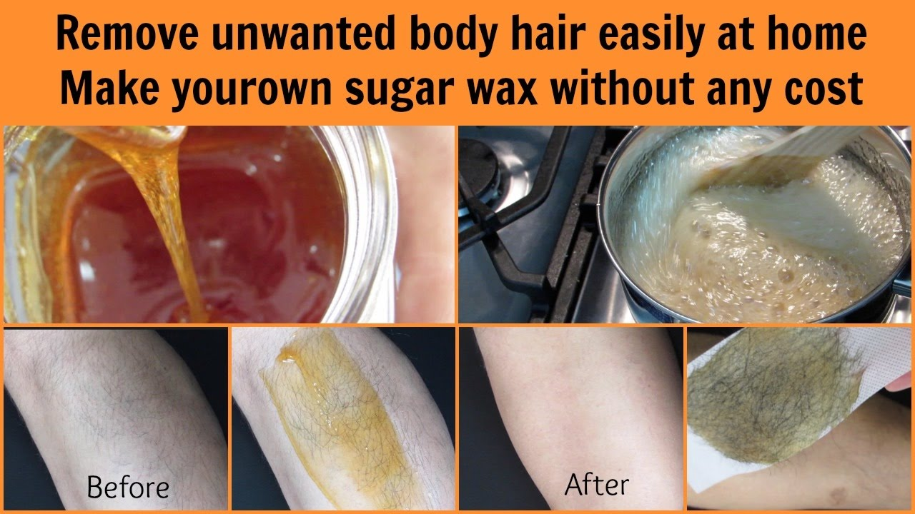 Get rid of unwanted hair easily at home | Homemade sugar wax | Mamtha Nair
