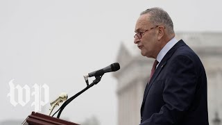 Schumer calls Senate GOP's backing Amy Coney Barrett an 'inerasible stain' as filibuster fails