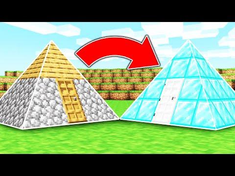 Minecraft, ABER die BLÖCKE sind DREIECKIG!
