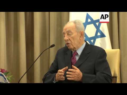 French foreign minister meets Israeli president in effort to end violence