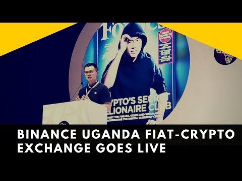First Fiat-Crypto Exchange in Uganda is Now Open - Binance Uganda