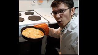 Шарлотка   Как быстро приготовить яблочную шарлотку в духовке (Выпуск 3)
