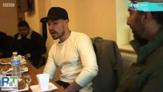 British Olympic Medalist Louis Smith visits Ahmadiyya Mosque after offensive video