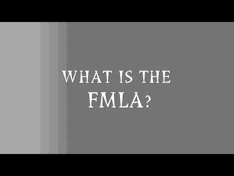 What is the FMLA