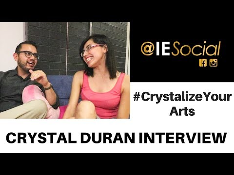 Crystal Duran @IESocial Interview -- Dance With Your Entire Body Including Your Eyes!