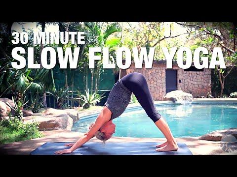 30 Minute Slow Flow Yoga Class - Five Parks Yoga