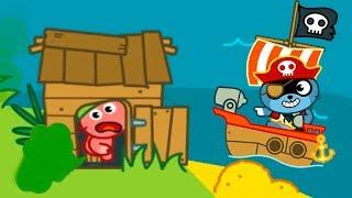 МАЛЫШ Панго ПИРАТ Спасает ДРУЗЕЙ Веселое ПРИКЛЮЧЕНИЕ Игровой мультик для детей ИГРА для малышей