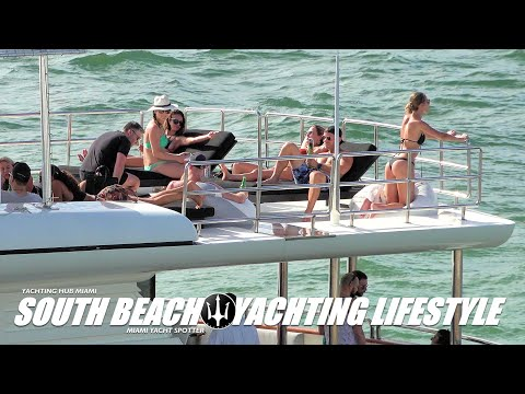 MIAMI BEACH / YACHTING LIFESTYLE / ONLY BIG YACHTS