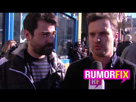 Ron Livingston and Jake Johnson Pretend To Be Each Other LOL