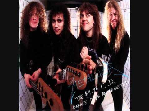 Metallica The Wait Lyrics Garage Days ReRevisited