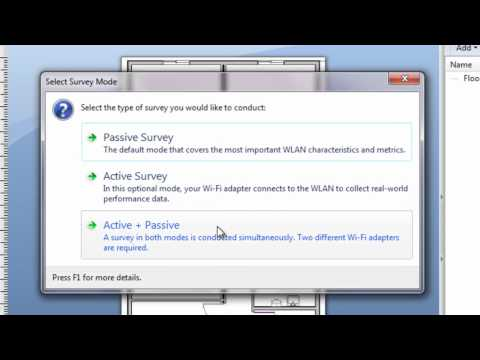 Wi-Fi Site Survey & Planning Software for 802 11 a/b/g/n/ac