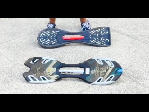 How to ride a waveboard  !!