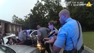 Police Chase of Escaped Inmate