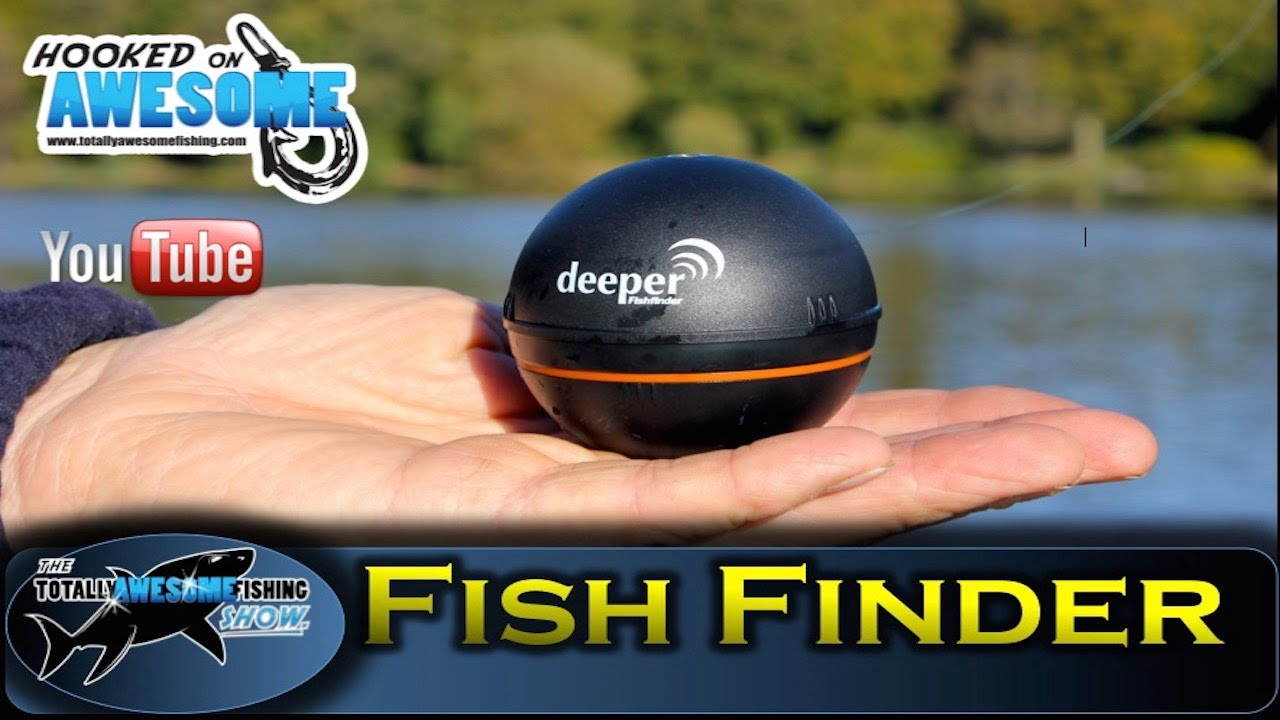 deeper smart fishfinder review and test by tafishing show - youtube, Fish Finder