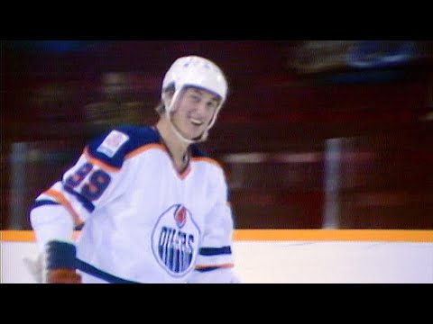 Memories: Wayne Gretzky scores his first NHL goal