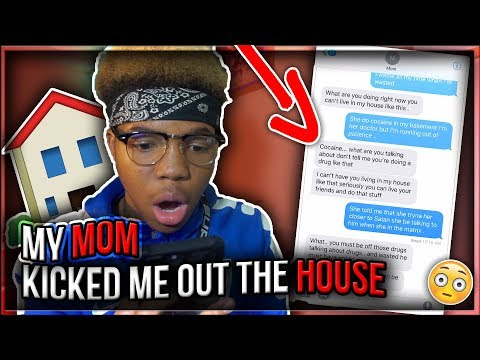 """JUICE WRLD """"WASTED"""" SONG LYRIC PRANK ON MY MOM😱😭 *SHE KICKED ME OUT*"""