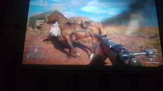 Battlefield 1, call of duty, titanfall 2 on 120 inch screen with 5.1 surround sound