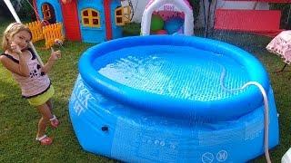 Video Elife yeni havuz su doldurduk, yüzemedik, eğlenceli çocuk videosu toys unboxing download MP3, 3GP, MP4, WEBM, AVI, FLV November 2017