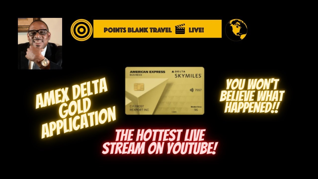 Download Amex Delta Gold Application - You Won't Believe What Happened!!