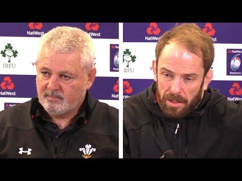 Ireland v Wales - Warren Gatland & Alun Wyn Jones Post Match Press Conference - Six Nations