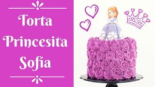 Torta de la Princesita Sofia ☆ Tan Dulce
