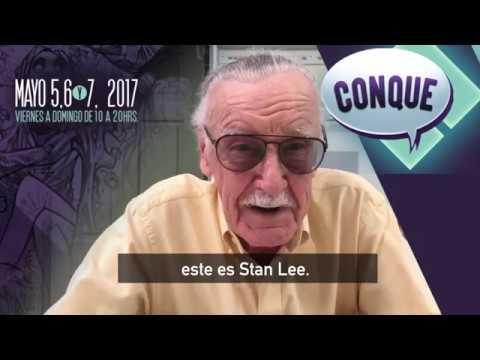 Stan Lee confirma su visita a Querétaro, único evento en México · CONQUE 2017