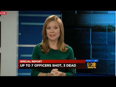 3 Officers Dead - 3+ Injured - Live: WAFB 9 News Baton Rouge, Louisiana *Breaking News*