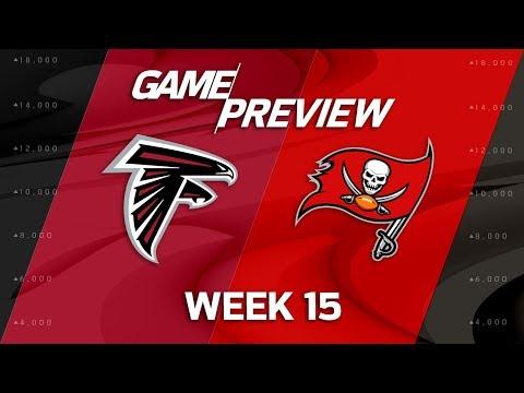 Atlanta Falcons vs. Tampa Bay Buccaneers | NFL Week 15 Game Preview | NFL Playbook