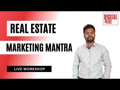 Real Estate Marketing Mantra Workshop | Live Webinar | Hindi