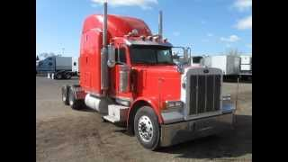 2007 Peterbilt 379 sleeper tractor for sale, pete 379 with Cummins ISX for sale